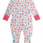 Frugi Cat Friends Babygrow