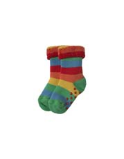 Frugi Rainbow Grippy Socks 2 Pack