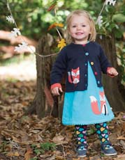 Frugi Hearts Norah Tights