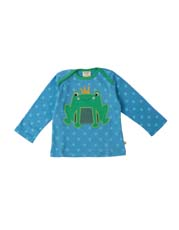 Frugi Frog Bobby Applique Top