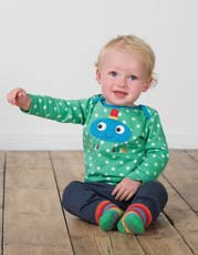 Frugi Spider Bobby Applique Top
