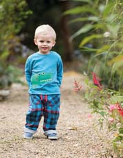 Frugi Croc Little Discovery Applique Top